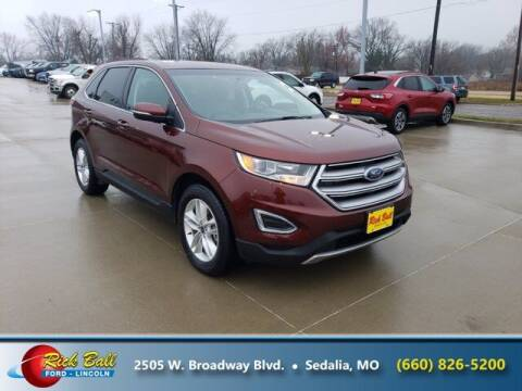 2016 Ford Edge for sale at RICK BALL FORD in Sedalia MO