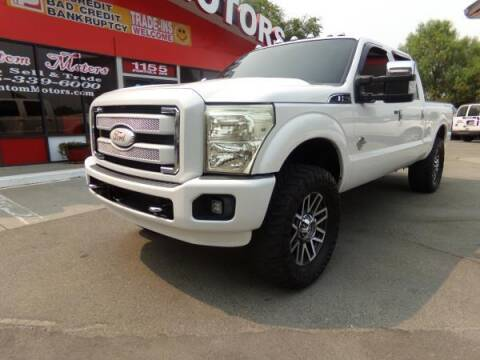 2013 Ford F-250 Super Duty for sale at Phantom Motors in Livermore CA