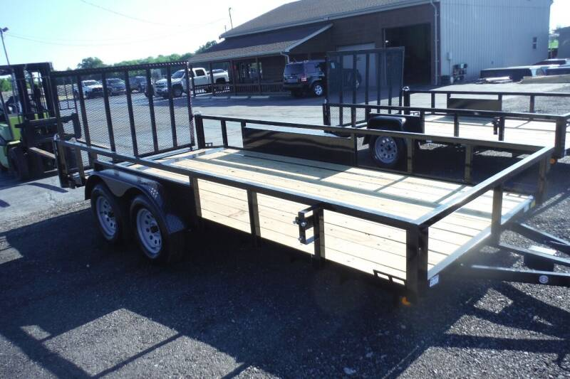 2021 Quality Steel 82X16 LANDSCAPE  for sale at Bryan Auto Depot in Bryan OH