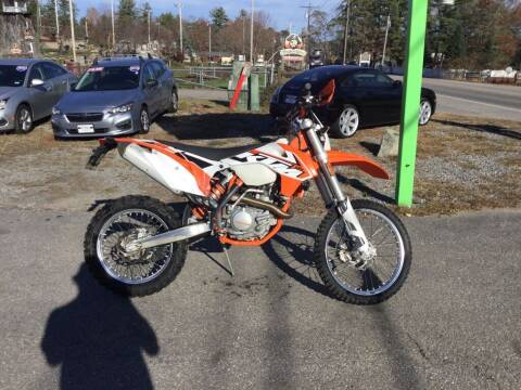 2015 KTM EXC 500 for sale at Giguere Auto Wholesalers in Tilton NH