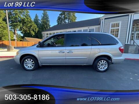 2003 Chrysler Town and Country for sale at LOT 99 LLC in Milwaukie OR