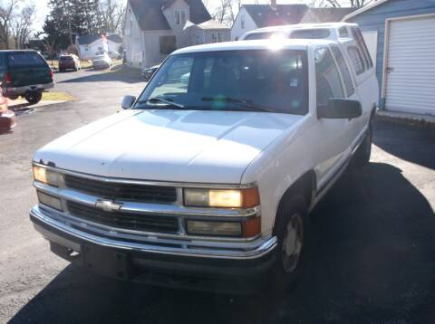 1997 Chevrolet C/K 1500 Series for sale at Straight Line Motors LLC in Fort Wayne IN