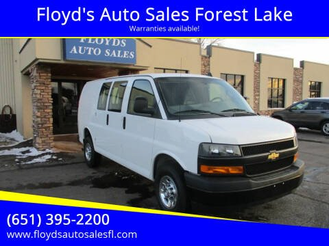 2019 Chevrolet Express Cargo for sale at Floyd's Auto Sales Forest Lake in Forest Lake MN