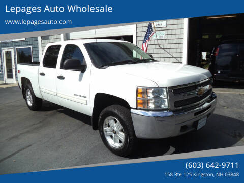 2013 Chevrolet Silverado 1500 for sale at Lepages Auto Wholesale in Kingston NH