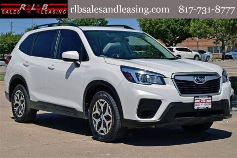 2019 Subaru Forester for sale at RLB Sales and Leasing in Fort Worth TX