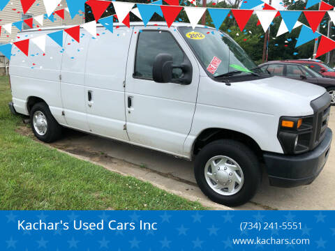 2012 Ford E-Series Cargo for sale at Kachar's Used Cars Inc in Monroe MI