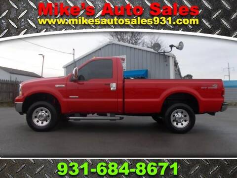 2007 Ford F-250 Super Duty for sale at Mike's Auto Sales in Shelbyville TN
