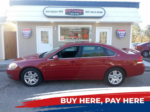 2007 Chevrolet Impala for sale at BIG DADDY'S  A.L.D. in Winston Salem NC