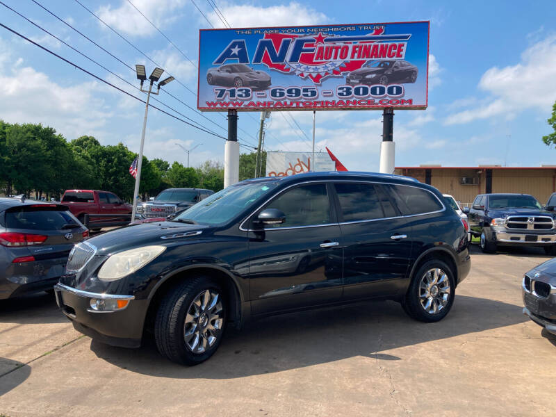 2012 Buick Enclave for sale at ANF AUTO FINANCE in Houston TX