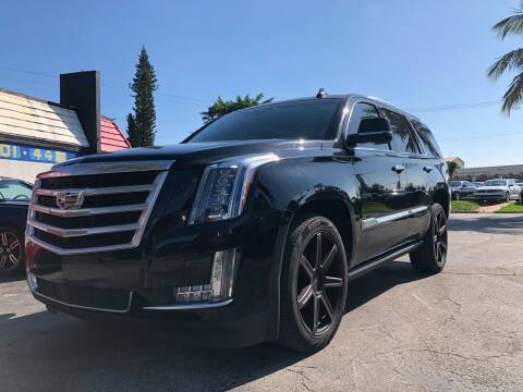 2016 Cadillac Escalade for sale at Gtr Motors in Fort Lauderdale FL