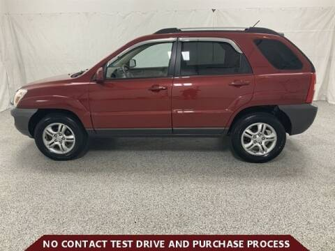 2007 Kia Sportage for sale at Brothers Auto Sales in Sioux Falls SD