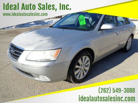 2009 Hyundai Sonata for sale at Ideal Auto Sales, Inc. in Waukesha WI