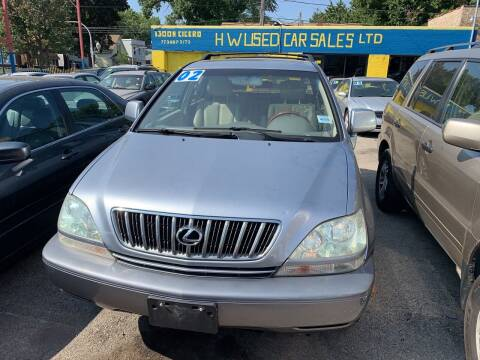 2002 Lexus RX 300 for sale at HW Used Car Sales LTD in Chicago IL