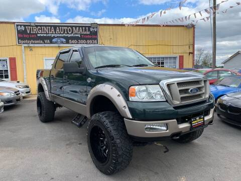 2005 Ford F-150 for sale at Virginia Auto Mall in Woodford VA