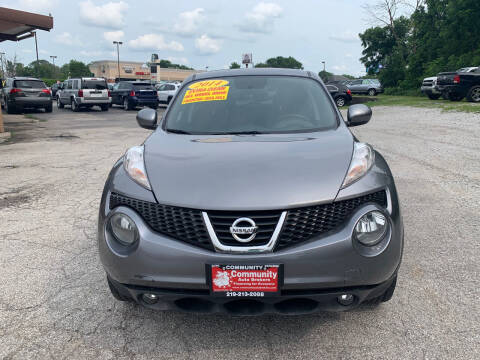 2014 Nissan JUKE for sale at Community Auto Brokers in Crown Point IN