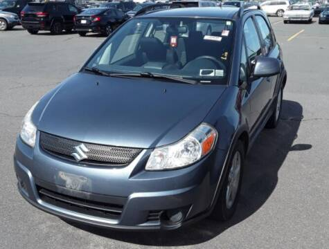 2009 Suzuki SX4 Crossover for sale at Broadway Garage of Columbia County Inc. in Hudson NY