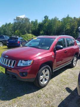 2012 Jeep Compass for sale at Jeff's Sales & Service in Presque Isle ME