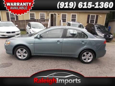2009 Mitsubishi Lancer for sale at Raleigh Imports in Raleigh NC