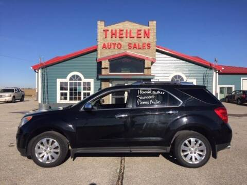 2010 Chevrolet Equinox for sale at THEILEN AUTO SALES in Clear Lake IA