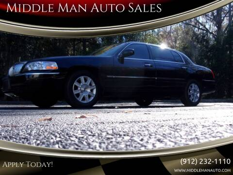 2011 Lincoln Town Car for sale at Middle Man Auto Sales in Savannah GA