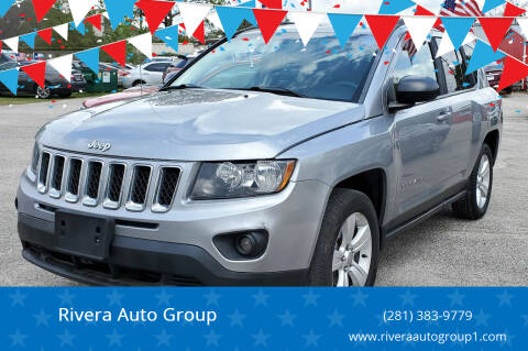 2016 Jeep Compass for sale at Rivera Auto Group in Spring TX