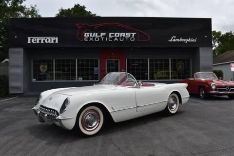 1954 Chevrolet Corvette for sale at Gulf Coast Exotic Auto in Biloxi MS