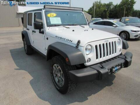 2014 Jeep Wrangler Unlimited for sale at TWIN RIVERS CHRYSLER JEEP DODGE RAM in Beatrice NE