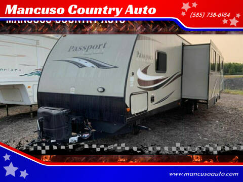 2017 Keystone Passport 3350BH Grand Touring for sale at Mancuso Country Auto in Batavia NY