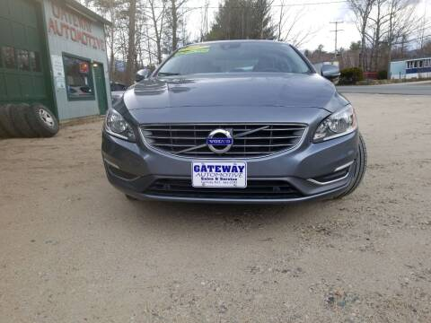 2017 Volvo S60 for sale at GATEWAY AUTOMOTIVE in Gorham NH