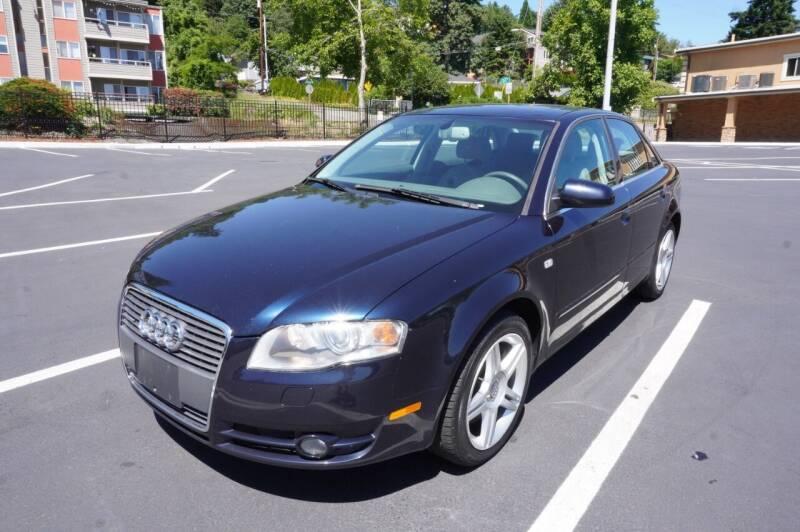 2007 Audi A4 for sale at Precision Motors LLC in Renton WA