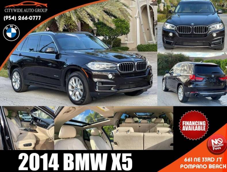 2014 BMW X5 for sale at Citywide Auto Group LLC in Pompano Beach FL