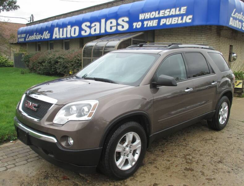 2012 GMC Acadia for sale at Lookin-Nu Auto Sales in Waterford MI