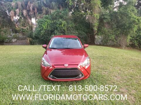 2019 Toyota Yaris for sale at Florida Motocars in Tampa FL