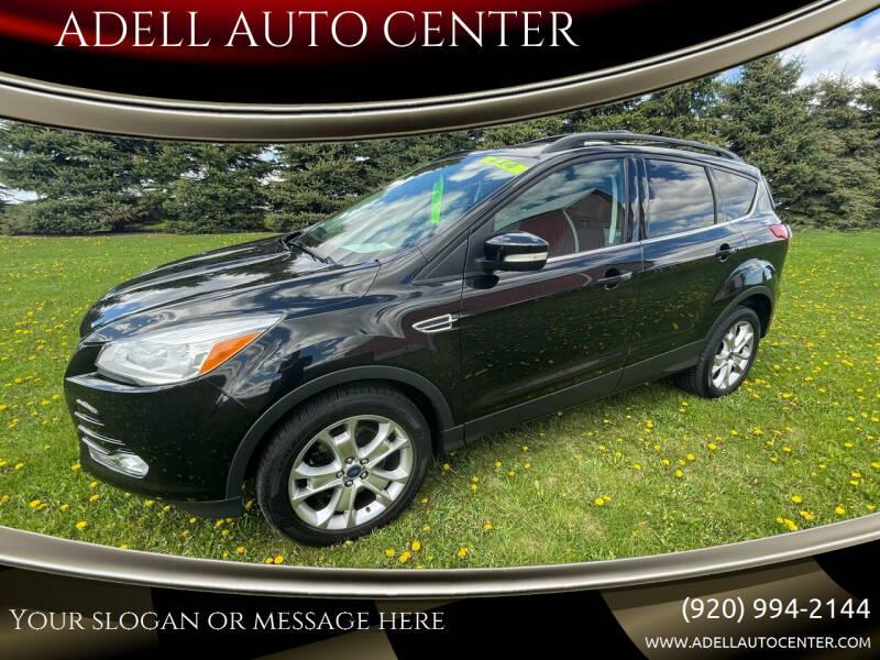 2013 Ford Escape for sale at ADELL AUTO CENTER in Waldo WI