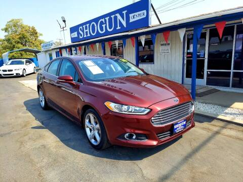 2016 Ford Fusion for sale at Shogun Auto Center in Hanford CA