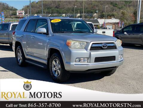 2011 Toyota 4Runner for sale at ROYAL MOTORS LLC in Knoxville TN