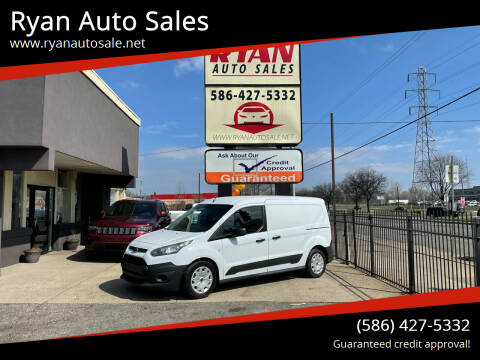 2014 Ford Transit Connect Cargo for sale at Ryan Auto Sales in Warren MI