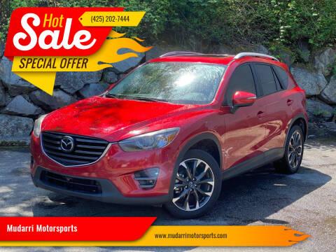 2016 Mazda CX-5 for sale at Mudarri Motorsports in Kirkland WA