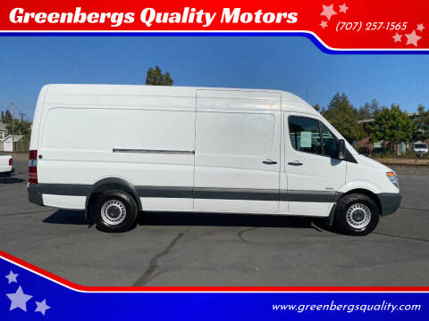 2010 Freightliner Sprinter Cargo for sale at Greenbergs Quality Motors in Napa CA