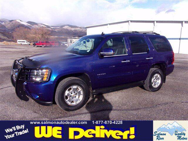 2010 Chevrolet Tahoe for sale at QUALITY MOTORS in Salmon ID