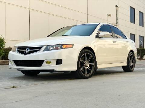 2008 Acura TSX for sale at New City Auto - Retail Inventory in South El Monte CA