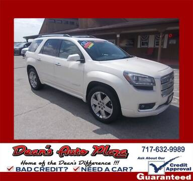 2015 GMC Acadia for sale at Dean's Auto Plaza in Hanover PA
