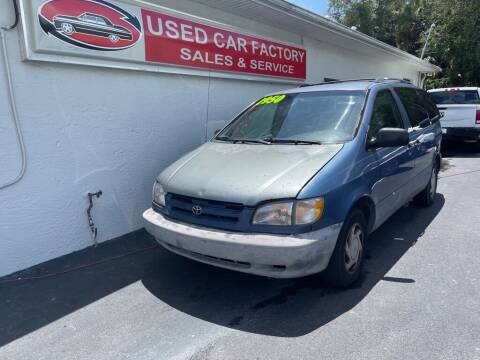 1999 Toyota Sienna for sale at Used Car Factory Sales & Service in Port Charlotte FL