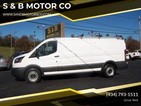 2017 Ford Transit Cargo for sale at S & B MOTOR CO in Danville VA