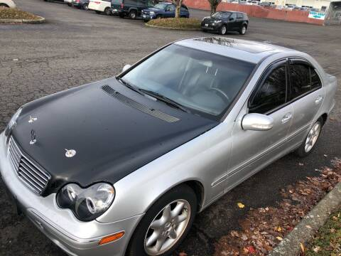 2003 Mercedes-Benz C-Class for sale at Blue Line Auto Group in Portland OR