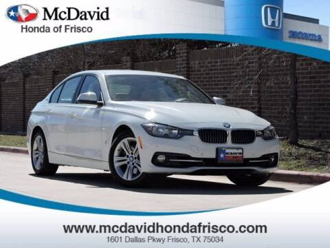 2017 BMW 3 Series for sale at DAVID McDAVID HONDA OF IRVING in Irving TX