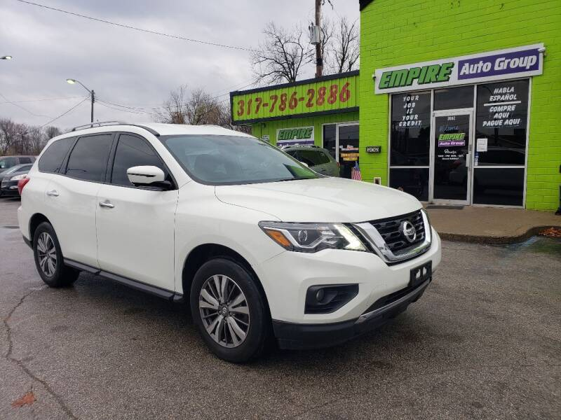2017 Nissan Pathfinder for sale at Empire Auto Group in Indianapolis IN