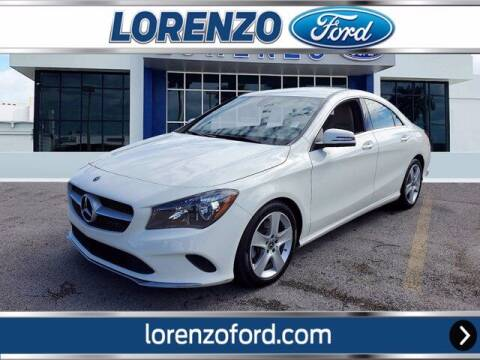2018 Mercedes-Benz CLA for sale at Lorenzo Ford in Homestead FL