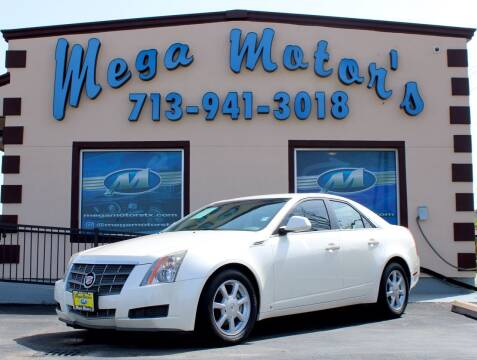 2008 Cadillac CTS for sale at MEGA MOTORS in South Houston TX