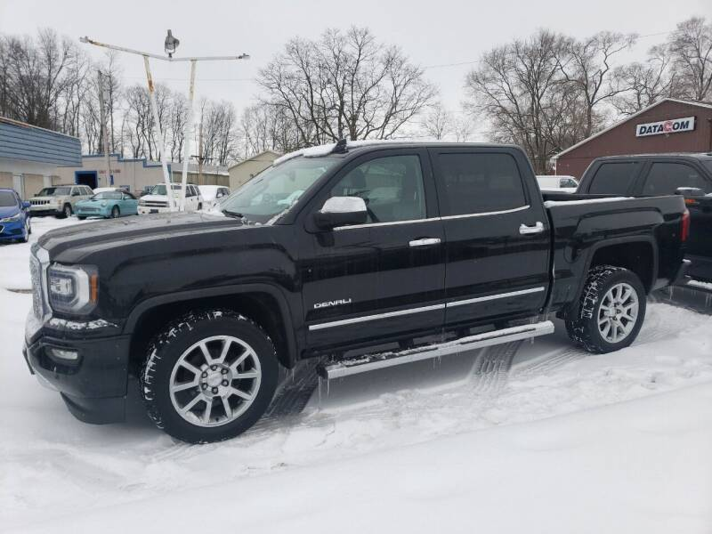 2017 GMC Sierra 1500 for sale at COLONIAL AUTO SALES in North Lima OH